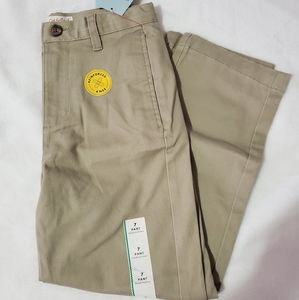 NWT Big boys size 7 Cat and Jack uniform pants